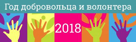 2018 - Год волонтера